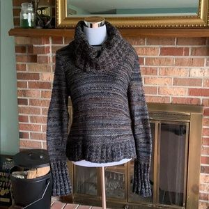 Loft cowl neck turtleneck sweater size M medium